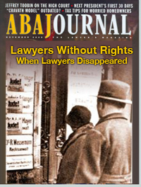ABA Journal - When Lawyers Disappeared